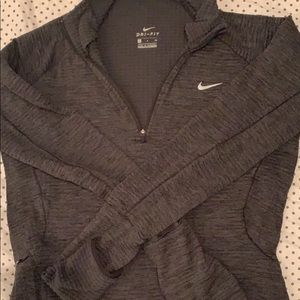 Nike Dri Fit insulated running/workout top